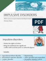 Impulsive Disorders