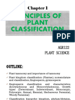 CHAPTER 1 Plant Classification Principles