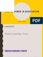 chap 13role of power in negotiation