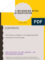 chap 15role of influencing style