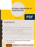 chap 16cross-cultural dimension of negotiation