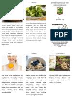 Leaflet Nutrisi Osteoporosis