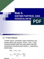Bab-5 Sistem Partikel Dan K. Momemtun
