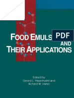 278973724 Food Emulsifiers and Their Applications