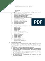 Spesifikasi Teknis Gedung Samsat 2018