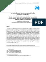 Advanced Materials of Automobile Bodies