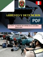 Arresto y Detencion