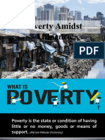 Poverty Amidst Affluence