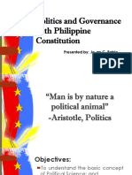 Politics and Governance With Philippine Constitution