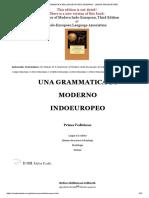 Grammatica Dell'Indoeuropeo Moderno - Lingue Indoeuropee
