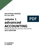 Advanced Accounting - Volume 1