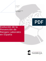 Evolucion de la Prevencion de Riesgos Laborales
