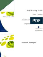 2-3 Sterile Body Fluids