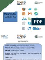 Tes6trabajo8miesotecnologia Educativa