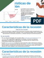 ECONOMÍA. Tema. Características de La Recesión