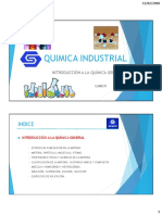 Quimica Industrial - Clase 01