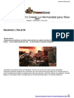 Guia Trucoteca Assassins Creed La Hermandad Xbox 360