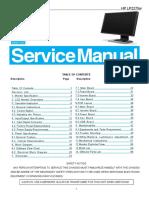 Manual de Servico Monitor AOC HP LP2275w
