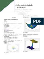 multivariable calculus matlab guide