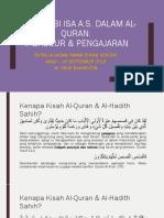 Kisah Nabi Isa a.s. Dalam Al-Quran_M Hidir Baharudin