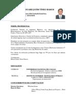 CV Ing Jose Jorge Jimenez_ Supervision