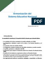 Armonización Del Sistema Educativo