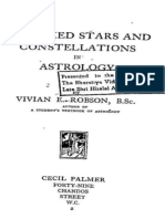 The Fixed Stars and Constellations in Astrology