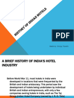 History of Indian Hotels