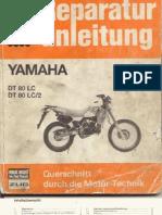 Reparatursanleitung Yamaha DT 80 LC, LC 2 (German)
