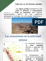 Concesiones en La Actividad Minera UTP 2