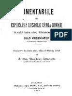 A4-2.1. Sfantul Ioan Gura de Aur, Comentariu la Epistola catre Romani  (completat cu pag. 310-311).pdf