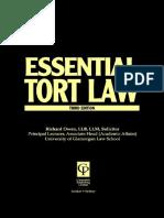 Owen, Richard Owen, Nicholas Bourne-Tort Law (Essentials Series) (2001)