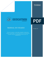 Manual Geocatmin 3
