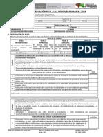 Ficha de Monitoreo Rubrica 2018 PDF