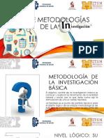 TIPOS de Metodologías de la investigacion