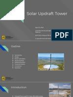 updraft tower presentation