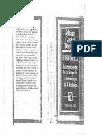 J G Droysen Historica Lecciones Sobre La Enciclopedia y Metodologia de La Historia