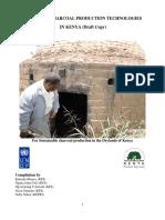 Charcoal Production Kilns Study kenya