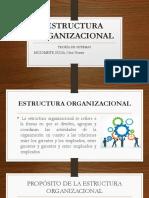 Estructura Organizacional Trabajo