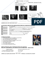 Young Frankenstein Worksheet