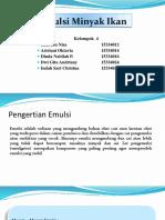 Formulasi Emulsi Minyak Ikan PPT