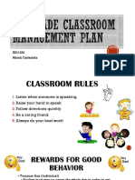 marelis classroom management plan  1