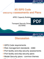 IMO ISPS Code - Security Assessments and Plans