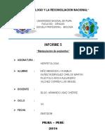 Informe Herpetologia