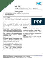MC-BAUCHEMIE - MC-DUR 1209 TX Adesivo Tixotrópico Para Reforço Estrutural Com Manta de Fibra de Carbono