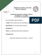 Materiales Informe 1 Microscopio Metalo