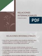 Paradigmas Internacionales.