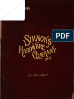 1903, Simmons Hardware Company, St Louis, US