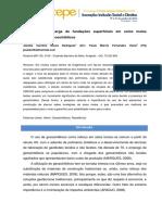 Artigo - Capacidade de Carga Em Fundações Superciais Em Solos Moles Reforçados Com Geossintéticos (4 Pag)