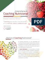 Certificacion en Coaching Nutricional